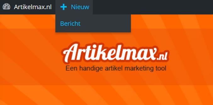 artikelmax-nieuw-bericht