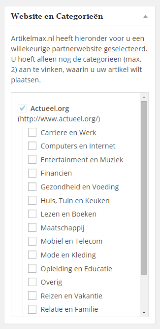 artikelmax-website-en-categorieen